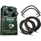 MXR M169 Carbon Copy Analog Delay with 4 Free Cables!