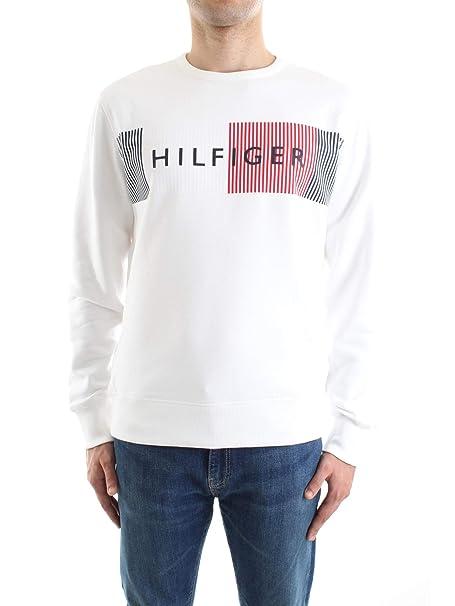 1d4c1af2118b Tommy Hilfiger Hilfiger Logo Sweatshirt Sudadera para Hombre