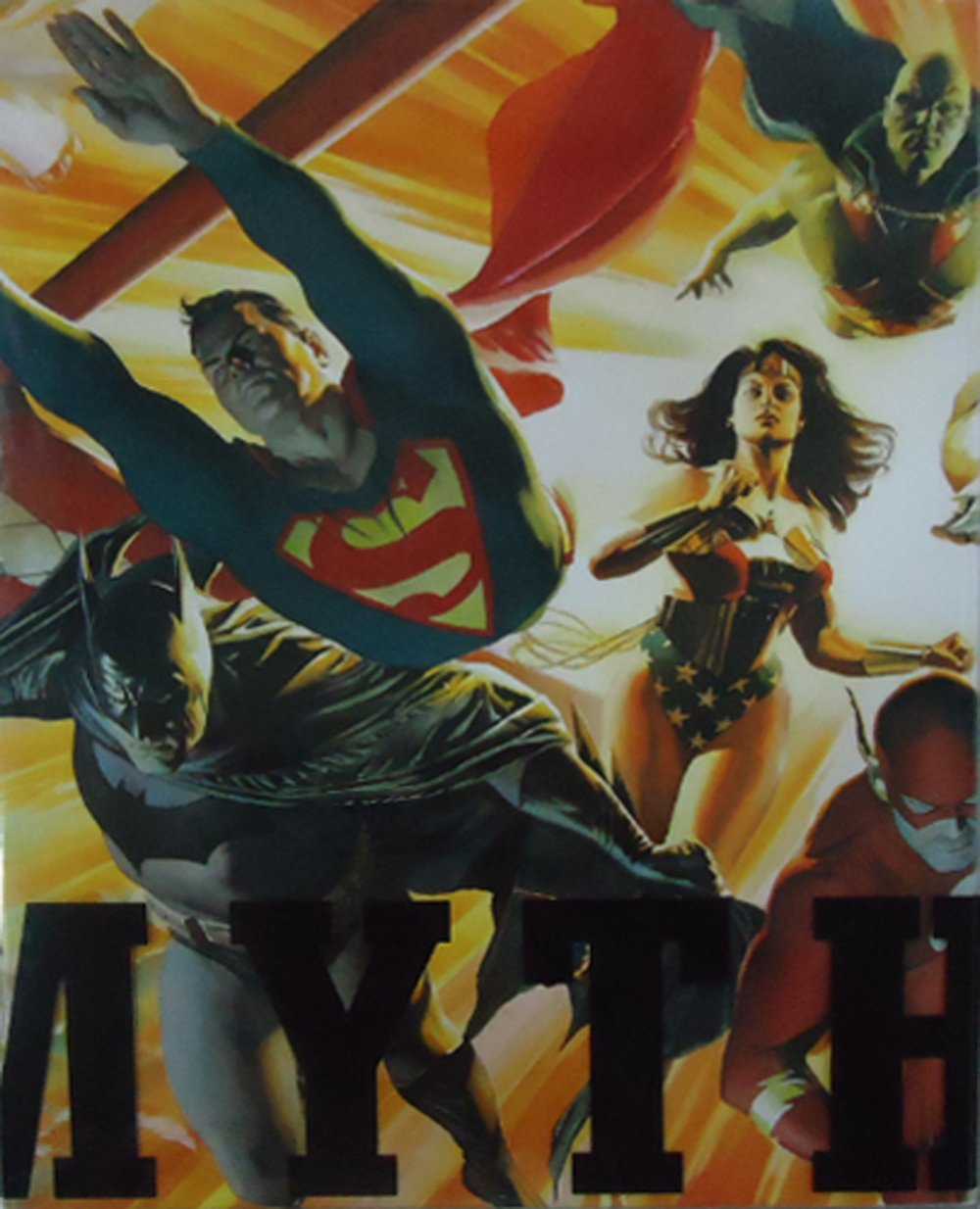 Mythology: The DC Comics Art of Alex Ross (Pantheon Graphic Novels) by Ross, Alex