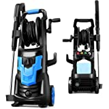 Pressure Washer Electric NUSIIRO 3600PSI, Power Washers High Powerful 1900W, Transformer Body Design, Self Assembled with Spr