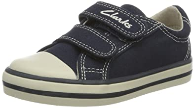 8d9debd0edc0 Clarks Boys   Halcy Sky FST Walking Baby Shoes Blue (Navy Canvas) 4 ...