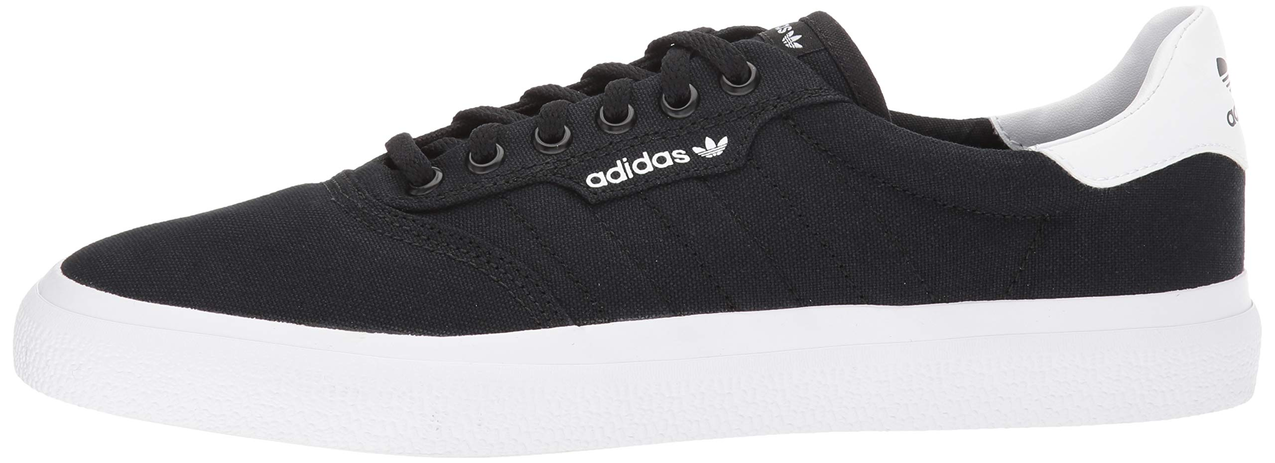 adidas Originals unisex-adult Black/White, 3 MC Skate Shoe 6.5 M US by adidas Originals (Image #5)