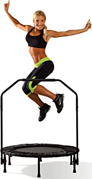 Marcy ASG-40 Trampoline Cardio Trainer with Handle