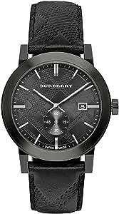 Burberry City Leather Mens Watch BU9906