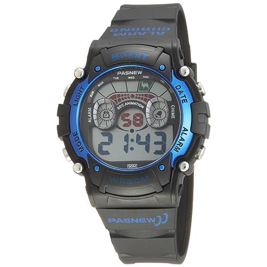 Cool Led resistente al agua ideal para la práctica de deportes de los relojes digitales para