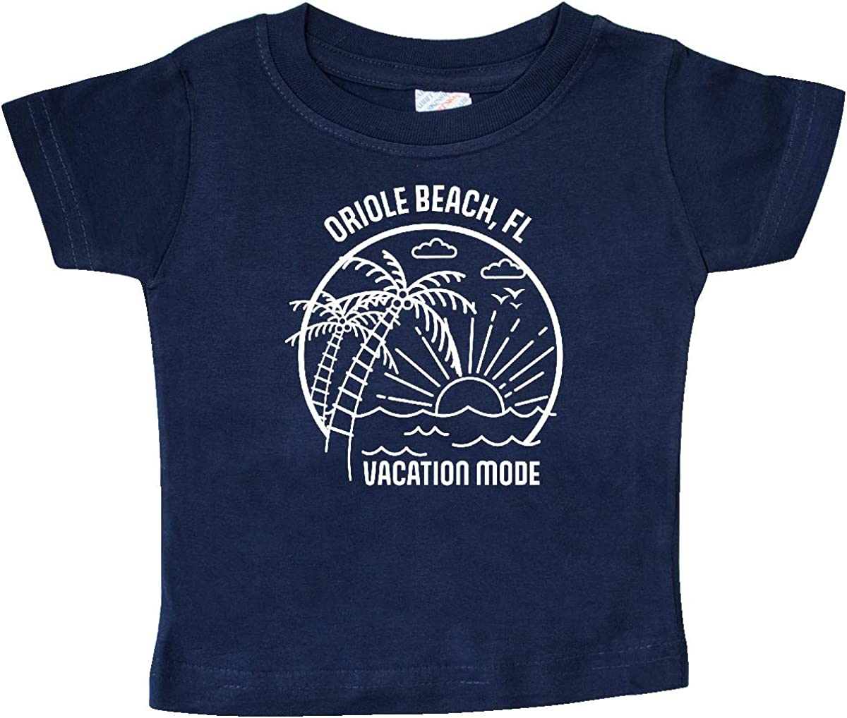 inktastic Summer Vacation Mode Oriole Beach Florida Baby T-Shirt