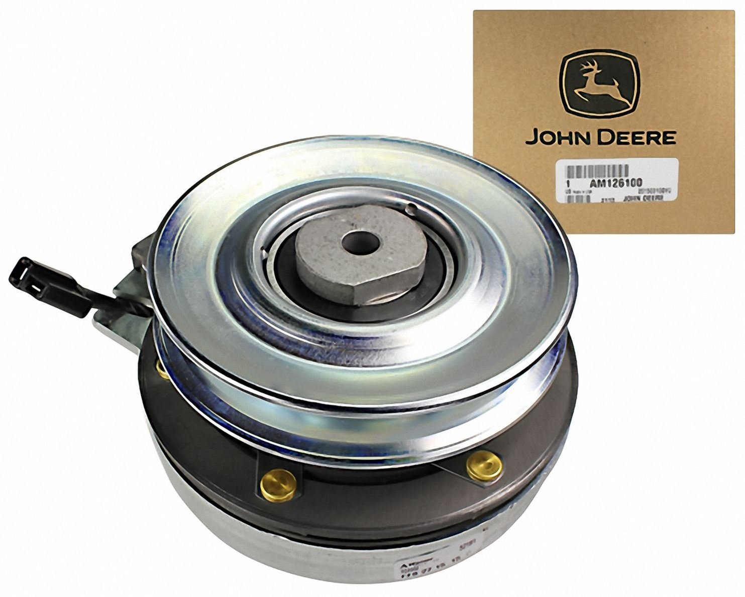 71fJHuOSamL._SL1483_ amazon com john deere original equipment clutch am126100 John Deere Riding Lawn Tractors at alyssarenee.co