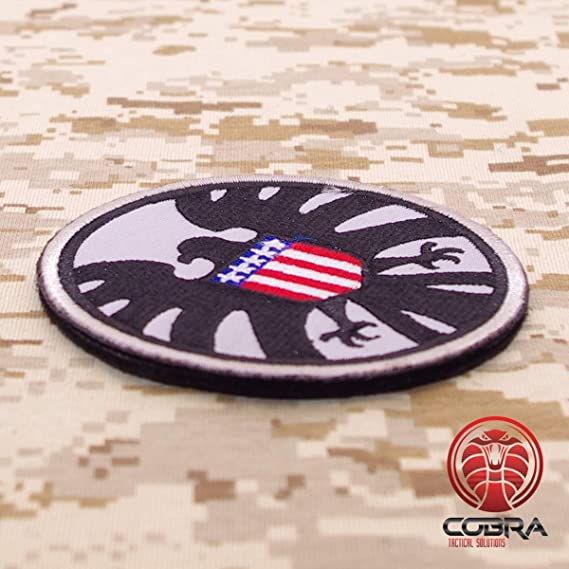 Cobra Tactical Solutions Avengers S H I E L D Patch Usa Flag Patch With Velcro Fastening For Airsoft Paintball Alle Produkte