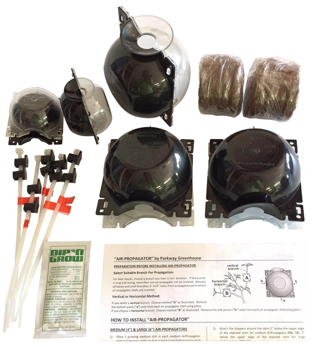 Air-layering Propagation Kit – AirPropagator Small 2 Medium 4