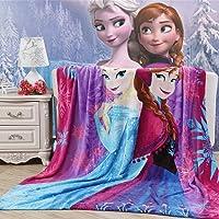 """Blaze Children's Cartoon Printing Blanket Coral Fleece Blanket 59 by 79"""""""