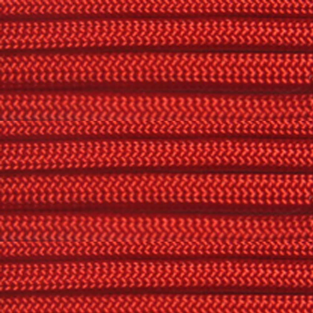 ParacordPlanet 100 550 Cord Hank of Type III 550 Paracord Red
