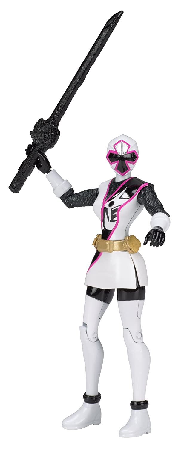 Power Rangers Ninja Steel 5-Inch White Ranger Action Hero Figure