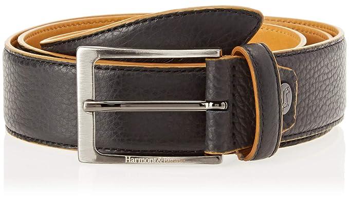 la scelta migliore offrire sconti meglio Harmont & Blaine Cintura in pelle bottalata Cintura, Uomo, Nero ...