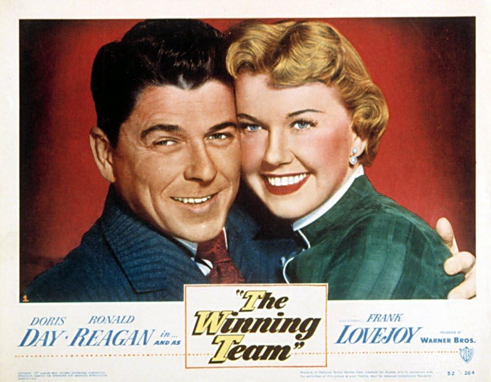 Amazon.com: Posterazzi The Winning Team Ronald Reagan Doris Day ...