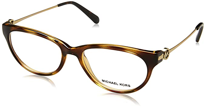 Michael Kors MK8003, Montature Unisex-Adulto, Oro (Gold/Transparent), 5