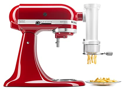 kitchenaid ksmpexta gourmet pasta press attachment with 6 interchangeable pasta plates - Kitchen Aid Attachments