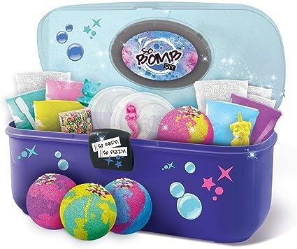 CANAL TOYS Maletín de herramientas para crear tus propias Bombas de baño, color azul y verde, Talla Única (1) , color/modelo surtido: Amazon.es: Juguetes y juegos
