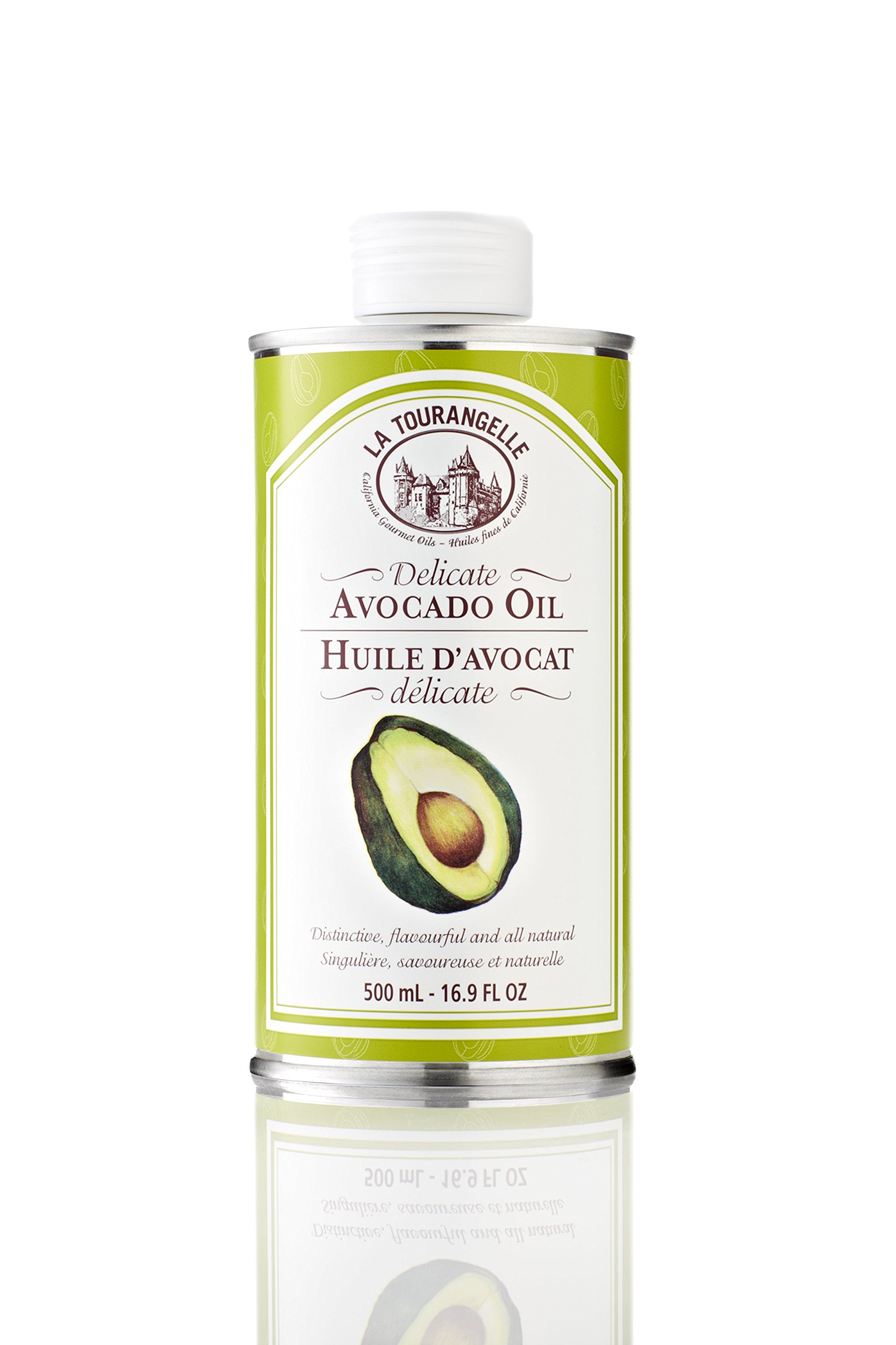 La Tourangelle Avocado Oil, 16.9-Ounce Tins (Pack of 2)