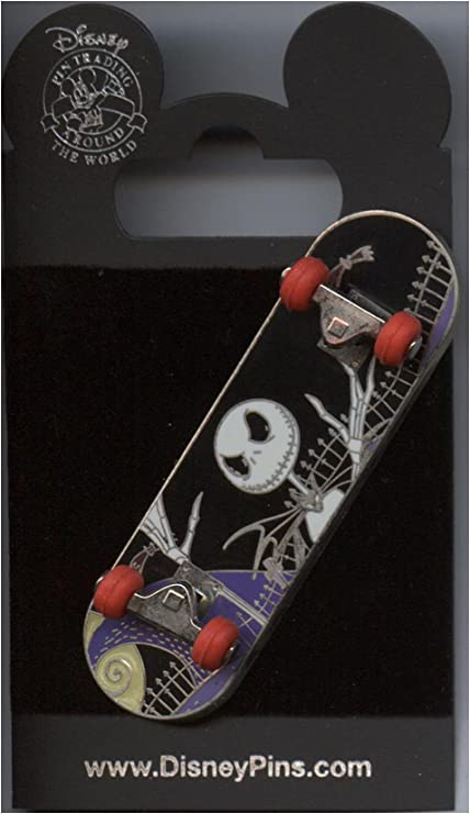 Skateboard Jack Skellington