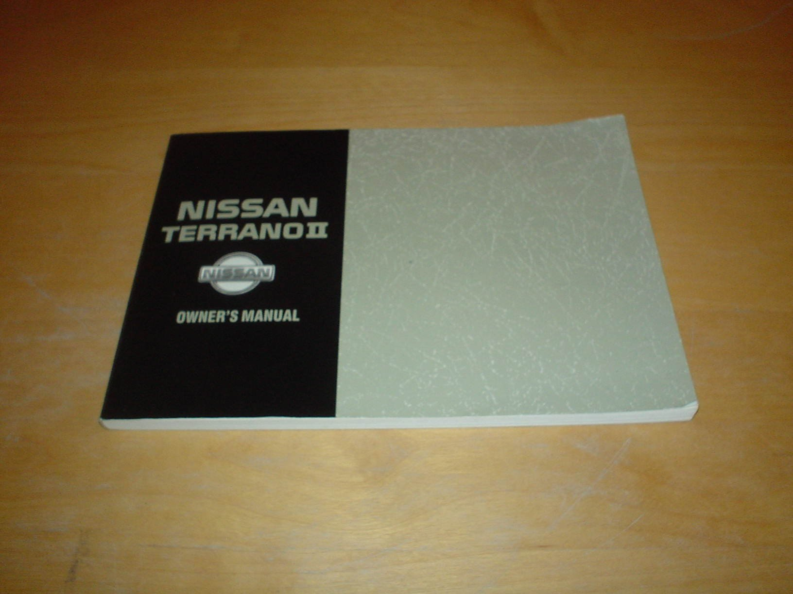 nissan terrano ii owners manual handbook 2 4 2 7 litre engine rh amazon co uk nissan terrano ii owners manual nissan terrano 2 service manual download