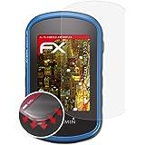 atFoliX Schutzfolie passend für Garmin Etrex Touch 25/35 Folie, entspiegelnde und Flexible FX Displayschutzfolie (3X)