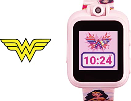 Wonder Woman Smartwatch for Kids by iTouch PlayZoom (Blush Wonder Woman)