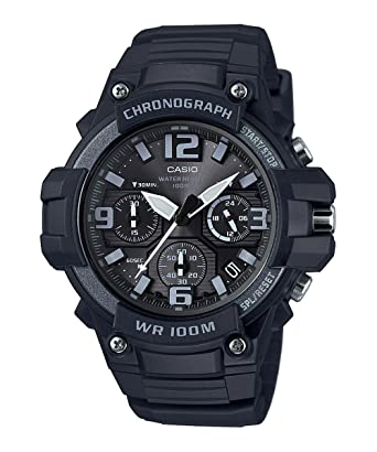8767100685 Amazon   CASIO (カシオ) MCW-100H-1A3/MCW100H-1A3 クロノグラフ ...