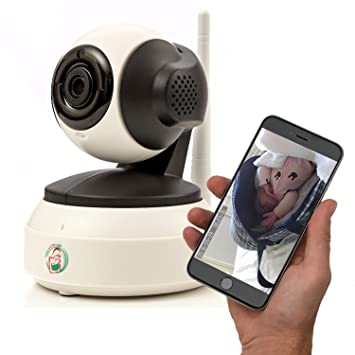 Amazon.com: Video Baby Monitor – Niñera cámara con WiFi ...