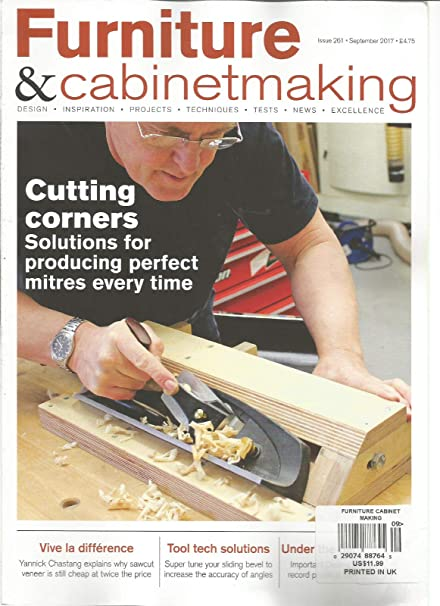 Amazon Com Furniture Cabinetmaking Magazine September 2017