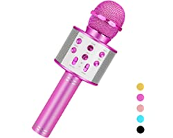 Niskite Toys for 3-16 Years Old Girls Gifts,Karaoke Microphone for Kids Age 4-12,Best Fun Birthday Gifts for 5 6 7 8 9 10 11