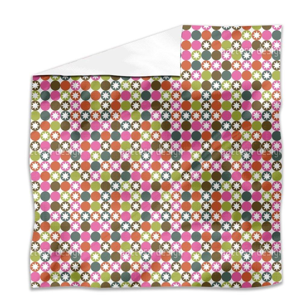 Star Bingo Flat Sheet: King Luxury Microfiber, Soft, Breathable by uneekee