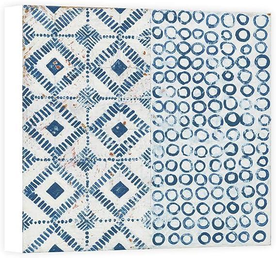 Impresión sobre Lienzo Wall Art Lovell Kathrine Maki Tile V: Amazon.es: Hogar