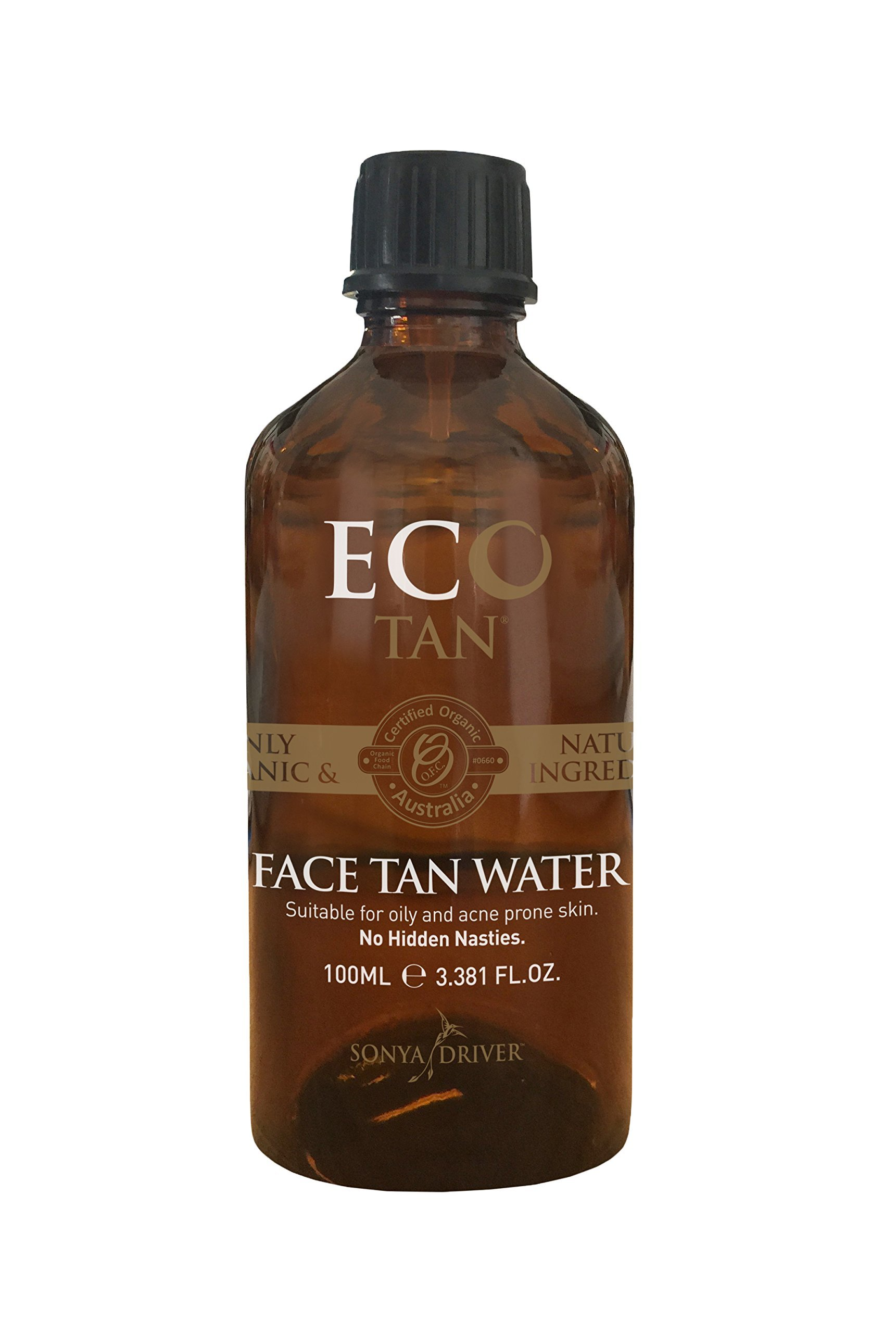 Eco Tan - Organic Face Tan Water (Suitable for oily and acne-prone skin) by E-Cotan