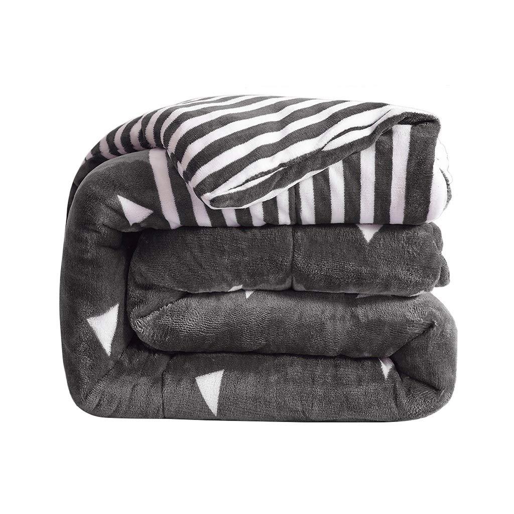 QFF-暖かく保つ 空調ブランケット、暖かい冬の寮の部屋学生の毛布の厚い二人の人々冷たい保護ソフトキルト エアコンキルト (色 : B, サイズ さいず : 180*220cm-4kg) B07L7861Z6 B 180*220cm-4kg