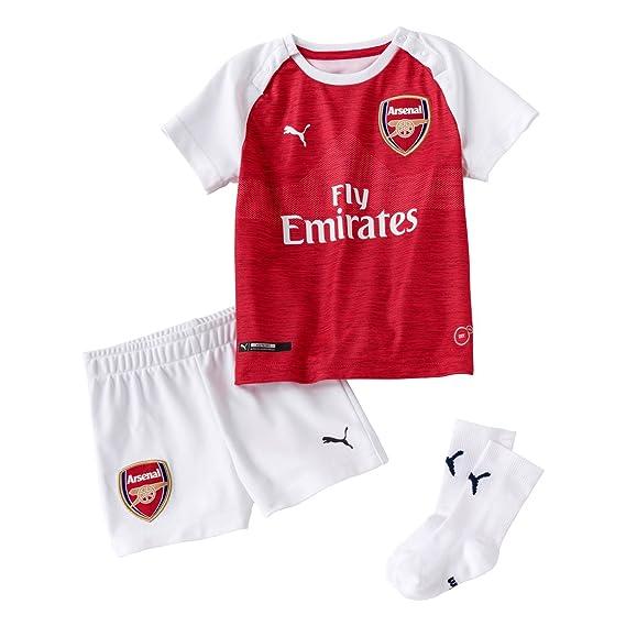 cdf8372f069 Puma Boys Arsenal Home Baby Kit 2018 2019  Amazon.co.uk  Clothing