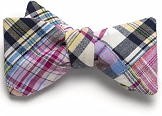 product image for Patchwork Madras Bow Tie- Ocean City