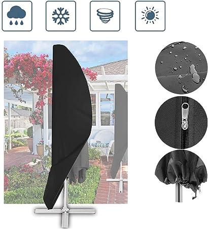 Outdoor Ombrello Parasole Copertura Patio Umbrella Ombrello Copertura Copertura per l/'uso 9ft