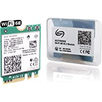 WiFi 6E AX210 Expands Wi-Fi into 6GHz with Bluetooth 5.2 Tri-Band WiFi 6 Module for Laptop and Desktop Support Windows10…