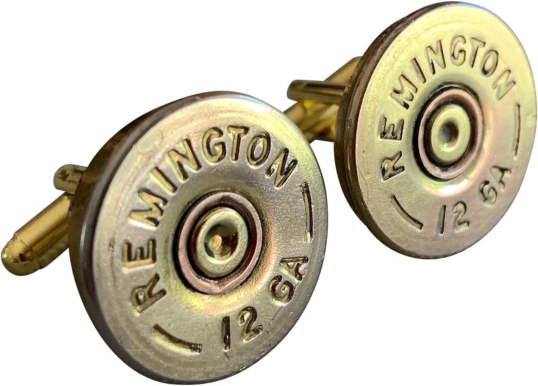 Ammo Gift Box Authentic Shotgun Shell Cufflinks