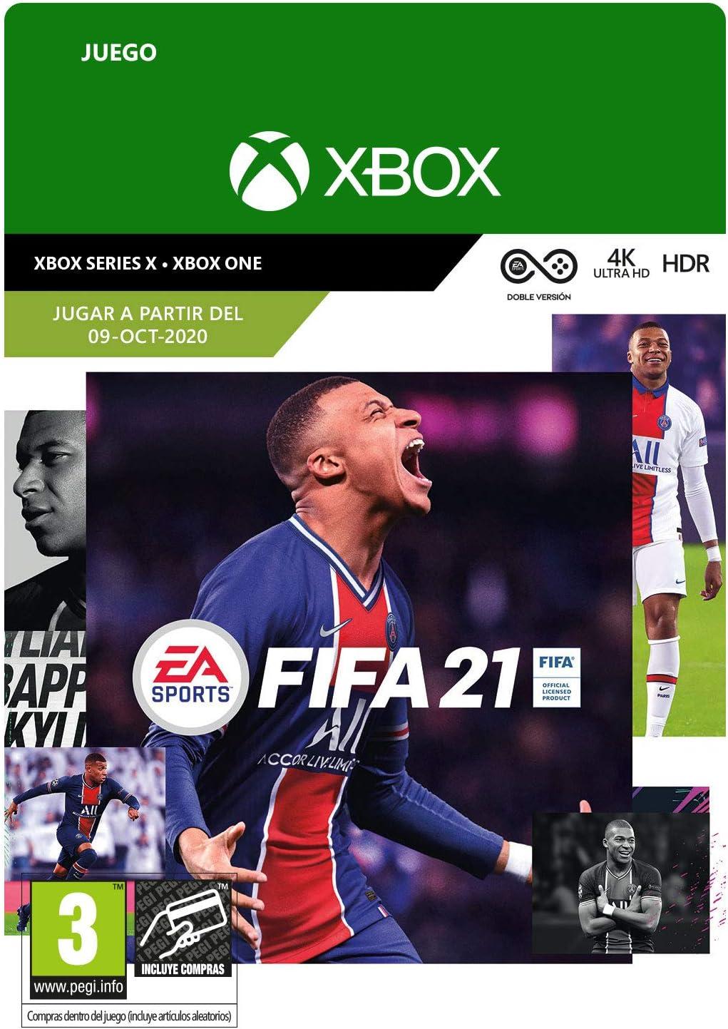 FIFA 21 Standard | Xbox - Código de descarga