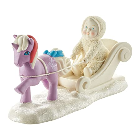 Department 56 Snowbabies Lead The Way, Powder Porcelain Figurine, 4.2
