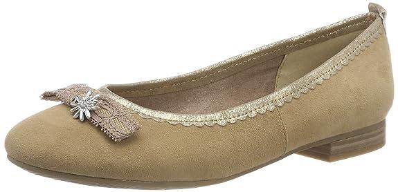 Tamaris Zapatos Bailarinas Y Amazon Mujer es Para 22106 31 0E8yqxwFr0