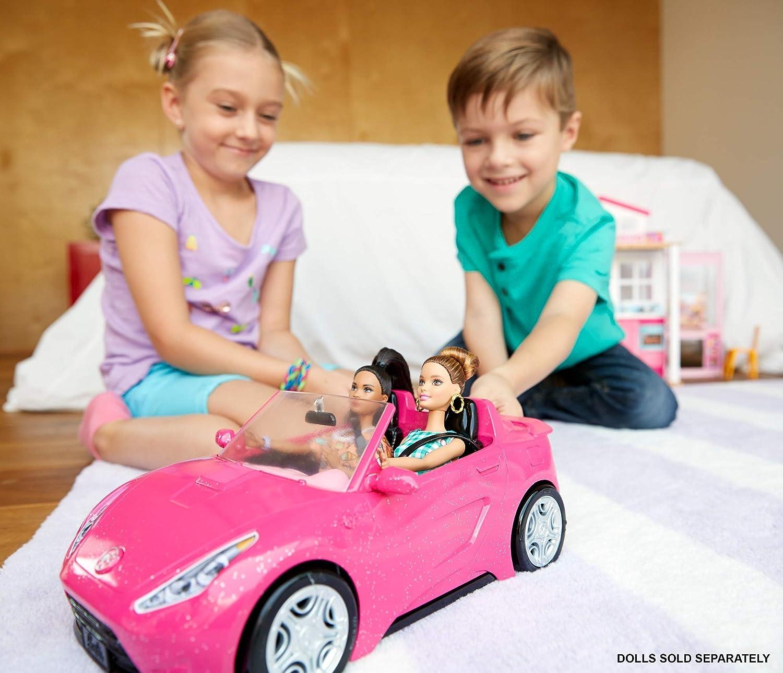 mit Platz für 2 Puppen Cabrio Fahrzeug Barbie DVX59 in pink Puppen Zubehör,