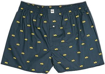 Brava Fabrics - Calzoncillos Boxer Hombre Estampados - Ropa Interior Hombre - Bóxer para Hombre - 100% Algodón - Calzoncillo Yellow Submarine: Amazon.es: Ropa y accesorios