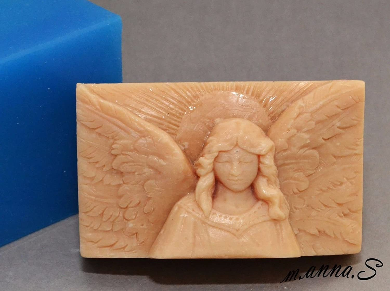 Angel Silicone Mold SOAP Wax Plaster Resin Clay Cherub Earth-Safe Inc.