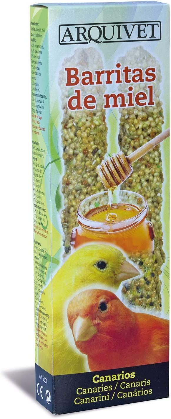Arquivet Barritas de Miel para Canarios 60g - 85 gr
