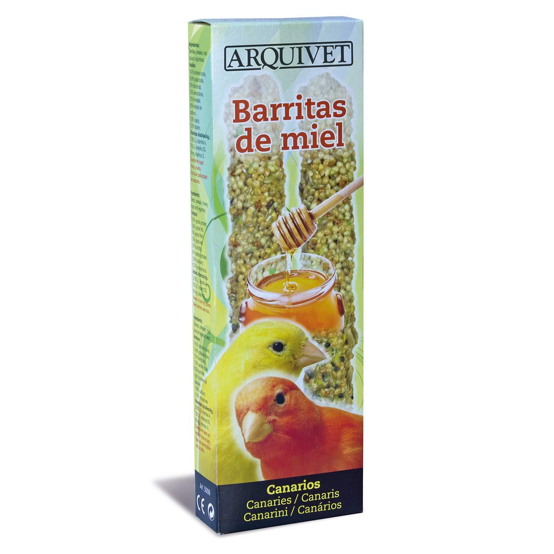 Arquivet Barritas de Miel para Canarios 60g - 85 gr: Amazon.es ...