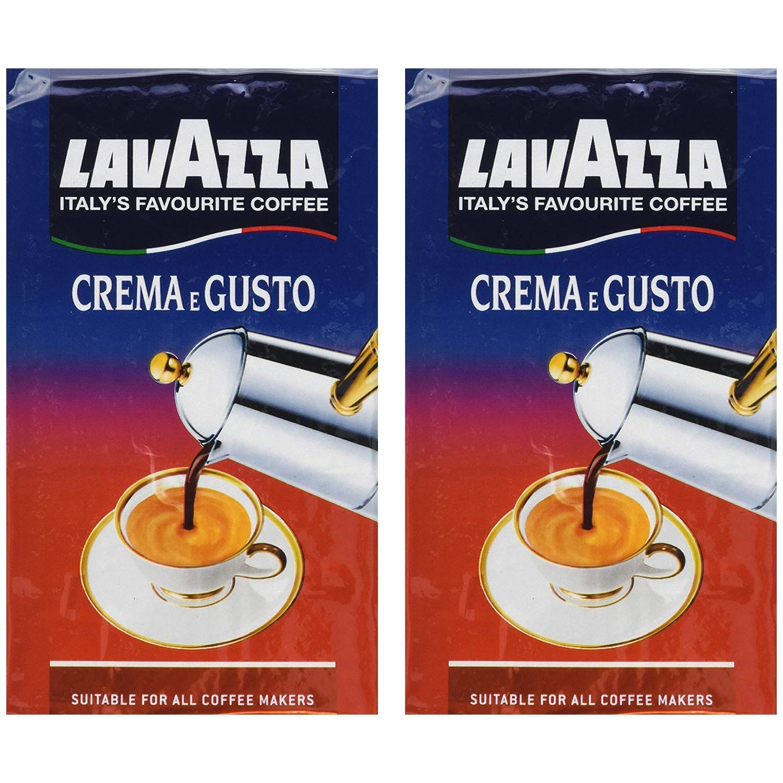 LavAzza Crema e Gusto Ground Coffee 8.80 oz (Pack of 2)
