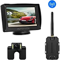 Auto-Vox M1W Wireless Backup Waterproof LED Reverse Rear View Back Up Car Camera