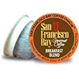San Francisco Bay OneCup, Breakfast Blend, 36 Count- Single Serve Coffee, Compatible with Keurig K-cup Brewers